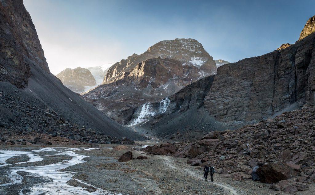 La cordillère des Andes